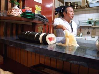 寿司かっちゃんの特製巻き物