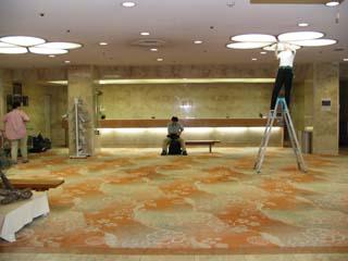 ホテル壮観フロント
