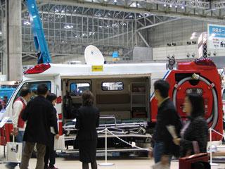 モリタの救急消防車